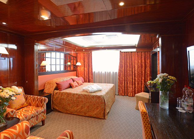 Superior Suite, Caledonian Sky, Kuril Islands Ship