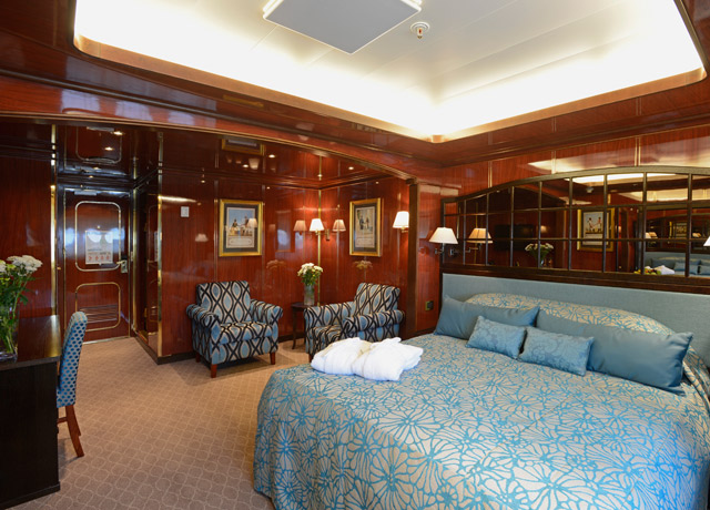 Standard Suite, Caledonian Sky, Trip to Kuril Islands ship