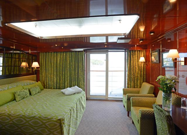 Premium Suite, Caledonian Sky, Cruise to Kamchatka Peninsula