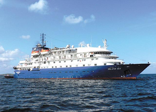 Island Sky, India cruise ship