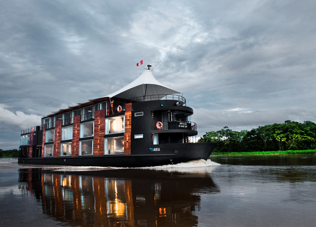 Aria, Amazon River cruise