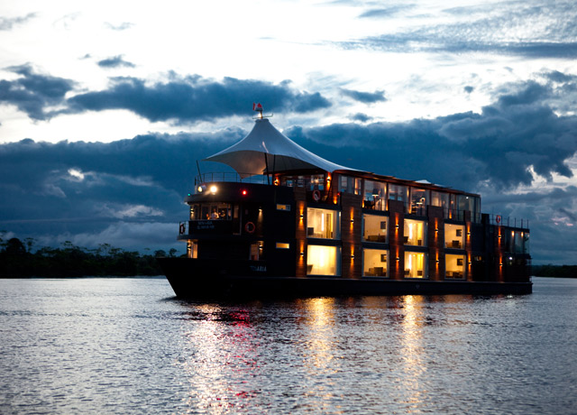 Aria, Amazon adventure cruise ship