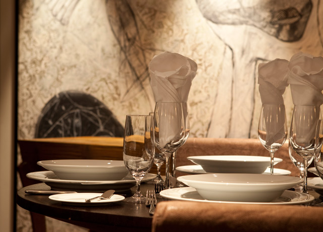 Dining room, Aria, Amazon River tours
