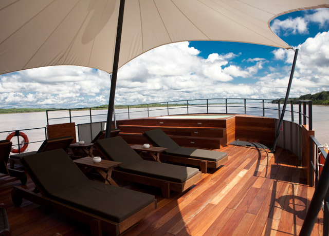 Deck, Aria, Amazon cruises