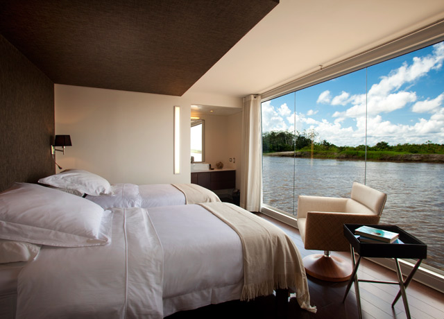 Cabin, Aria, Amazon River ships