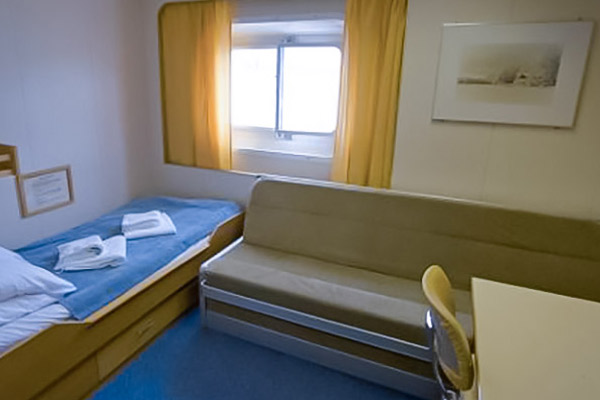 Twin Cabin Semi-Private, Akademik Ioffe, Antarctic Cruise