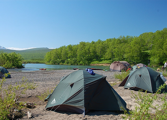 Kamchatka Wilderness Camping