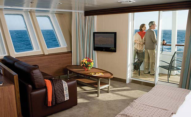 Category 7 Suite, National Geographic Explorer, Antarctic Cruise Ship