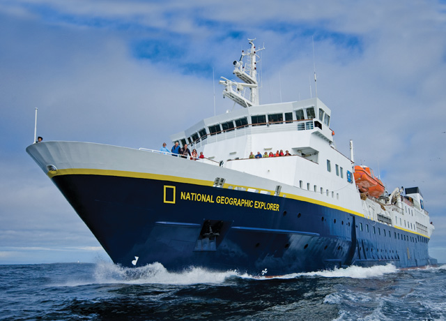 Bistro Bar, National Geographic Explorer, Antarctica Vessel