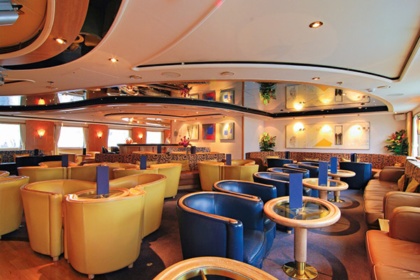 Lounge, National Geographic Orion, Antarctica Cruises