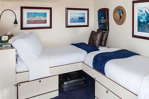 Category 2, National Geographic Sea Bird, Baja accommodations