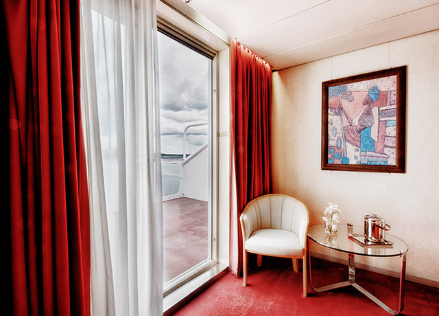 Balcony Suite, Ocean Diamond, Antarctica