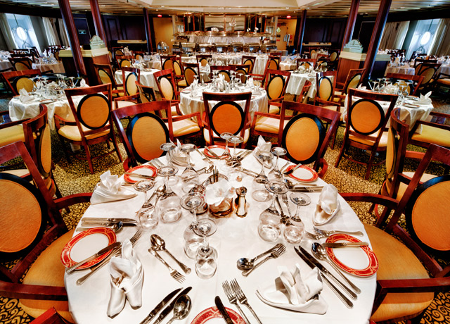 Dining Room, Ocean Diamond, Antarctica Expedition