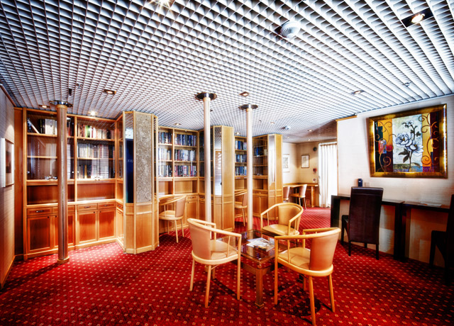 Library, Ocean Diamond, Antarctic Cruise
