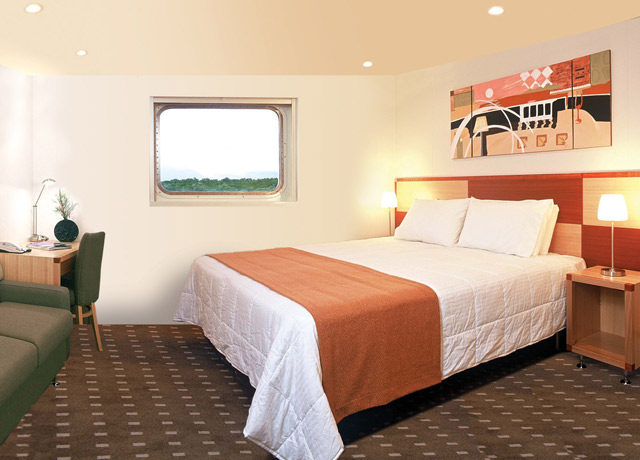 Stateroom, Oceanic Discoverer, Kimberley Cruise Ship