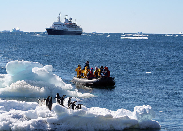 Zodiac Cruise, Sea Adventurer, Antarctica Cruise Ship