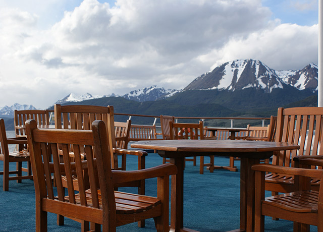 Deck, Sea Adventurer, Antarctica Adventure Cruises