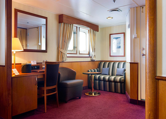 Cabin, Sea Adventurer, Antarctica departure
