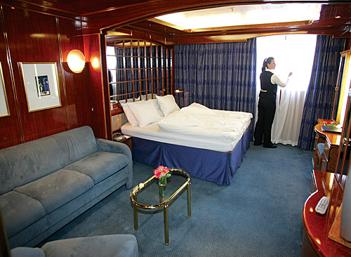 Window Suite, Sea Explorer, High Arctic cruise ship