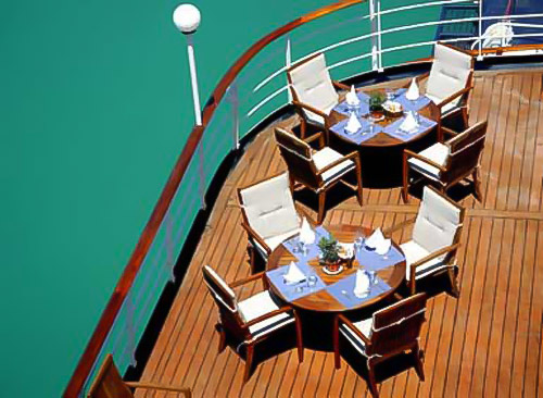 Deck, Sea Explorer, High Arctic adventure cruise ship