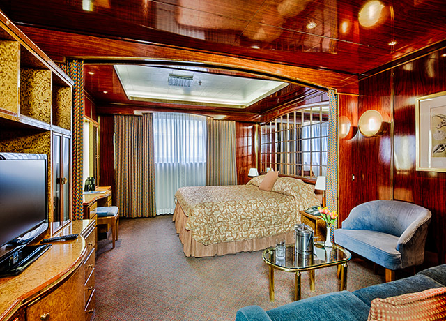Main Deck Suite, Sea Spirit, Antarctica Cruise Ships