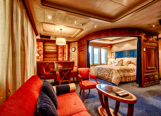 Owner's Suite, Sea Spirit, Antarctica Expedition