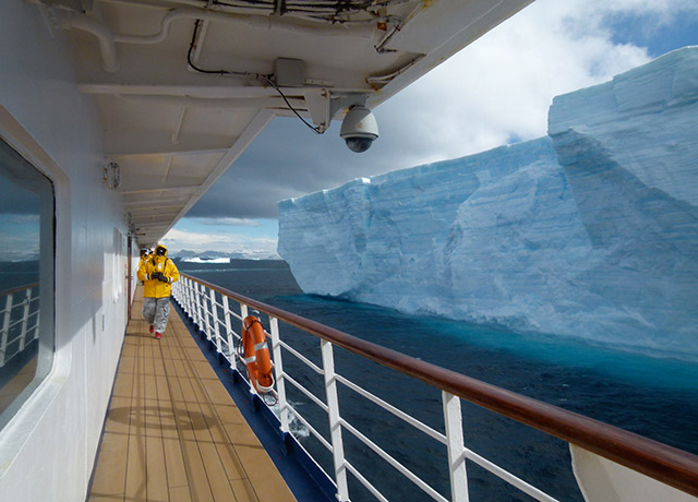 Outside Deck, Sea Spirit, Antarctica Cruises