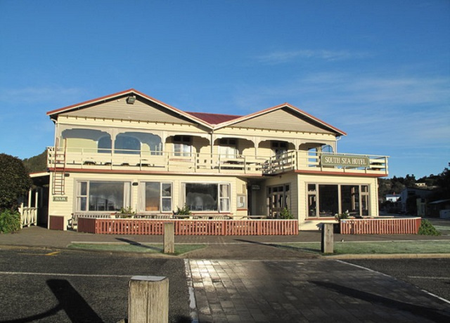 South Sea Hotel, Stewart Island, New Zealand