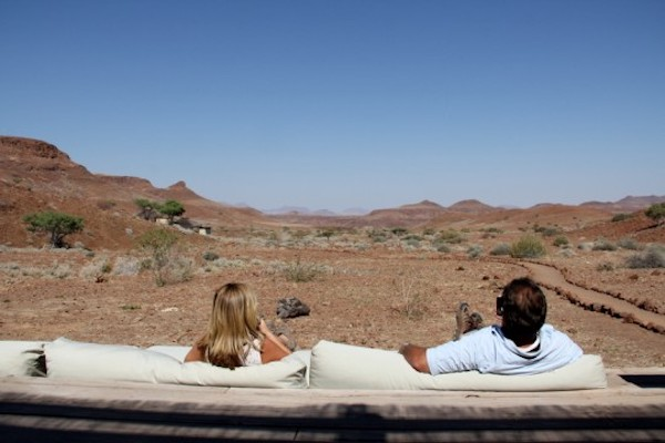 Room with a view: Damaraland Camp.