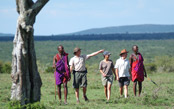 Hiking in the Footsteps of the Maasai