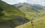 Trekking in the High Caucasus of Georgia