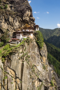 Takstang Tigers Nest Temple Bhutan