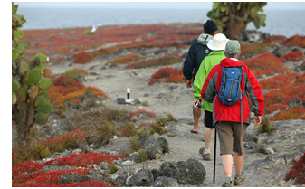 Hiking tour of the Galapagos Islands
