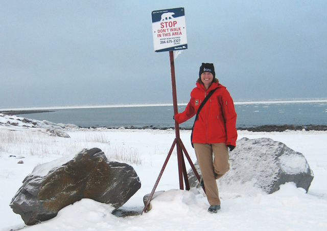 On high alert for polar bears, Churchill, Manitoba