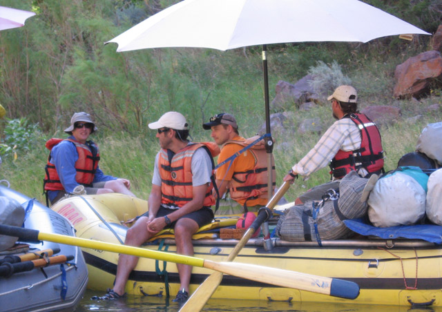 "A company ""Summerfest"" took 65 staff members and spouses on a four day trip down the Green River—one of the most fun team building exercises imaginable!"