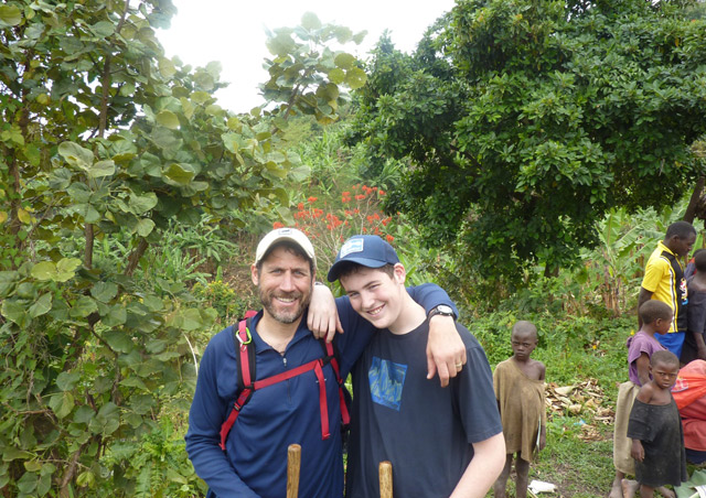 20 years after visiting mountain gorillas for my honeymoon, I returned with my then 15 year old son Cole for one of the most meaningful adventures of my life.