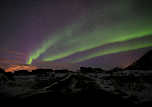 The most epic Northern Lights I've ever seen in Myvatn, Iceland.
