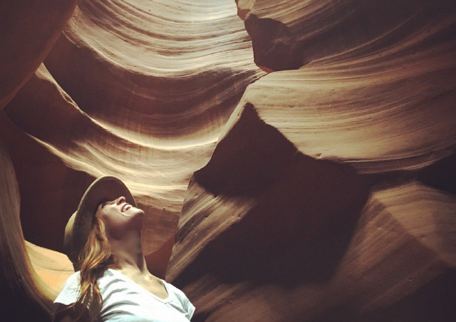 Upper Antelope Canyon in Page, Arizona