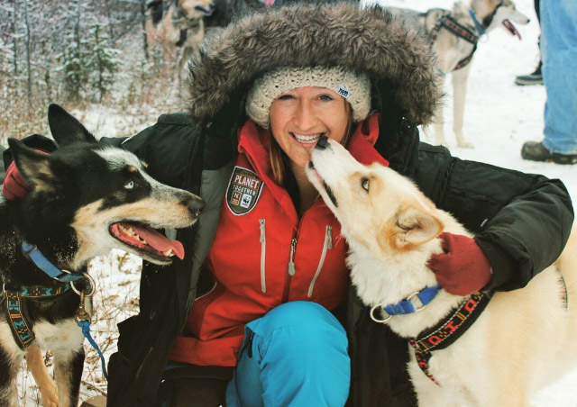 Seeing Polar Bears in Churchill was beyond compare, but playing with these sled dogs was a close second!