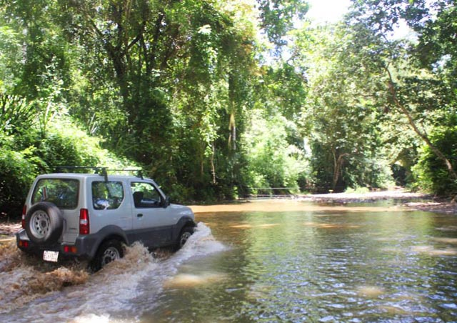 One of many river crossings we were confronted with along our journey up the coast of the Nicoya Peninsula in Costa Rica.