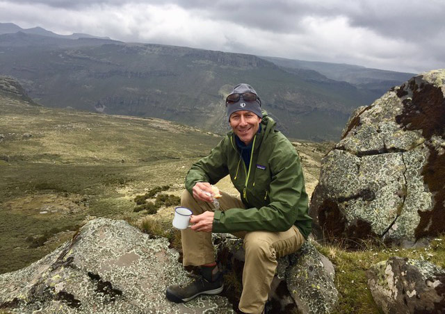 Coffee break, Bale Mountains in Ethiopia, October 2017