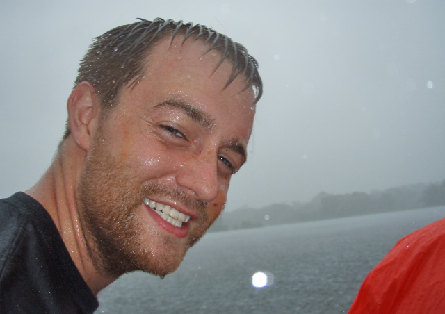 They say you haven't been to the Amazon until you've experienced a torrential downpour; this photo is my proof.