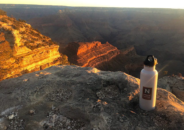 To celebrate my new job with Nat Hab I took an impromptu road trip to camp at the Grand Canyon.