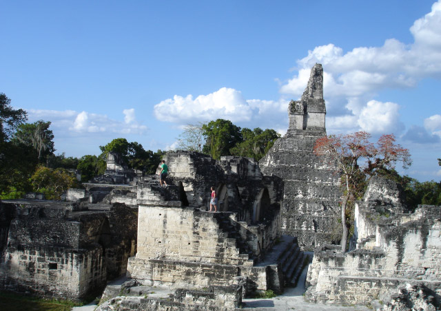 The ruins of Tikal in Central America served both my adventure spirit as well as my nerdy Star Wars side: filming of the first movie was here.