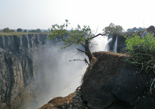 The awesome power of Victoria Falls moves me emotionally every time I look at this photo.