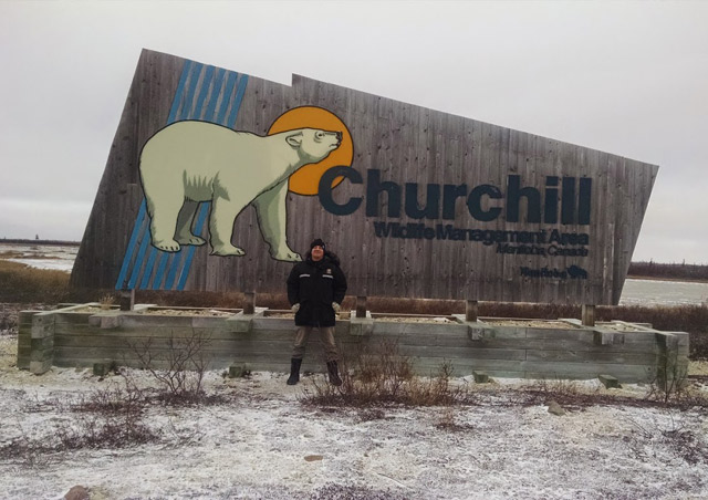 Polar bear capital of the world – Churchill, Manitoba