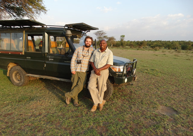 Kenya Site Inspection: David at Leleshwa Camp is one of the best guides I've ever had.