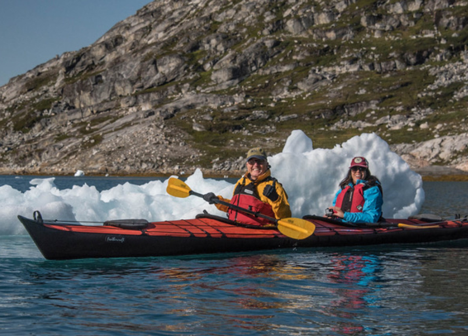 Kayaking in Greenland with Nat Hab.