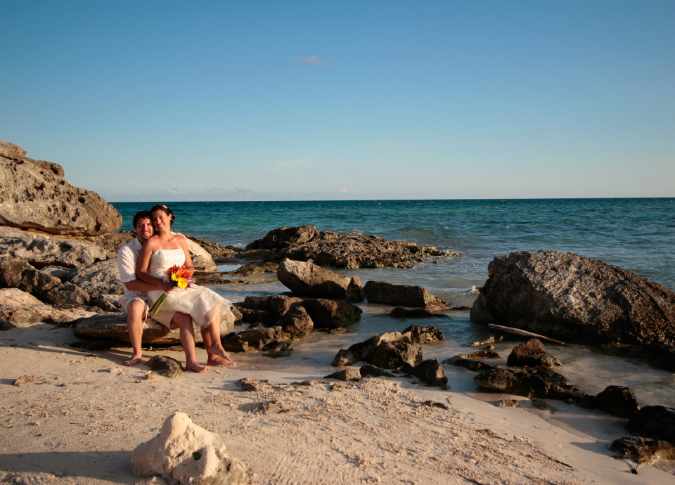 My wedding in Tulum.
