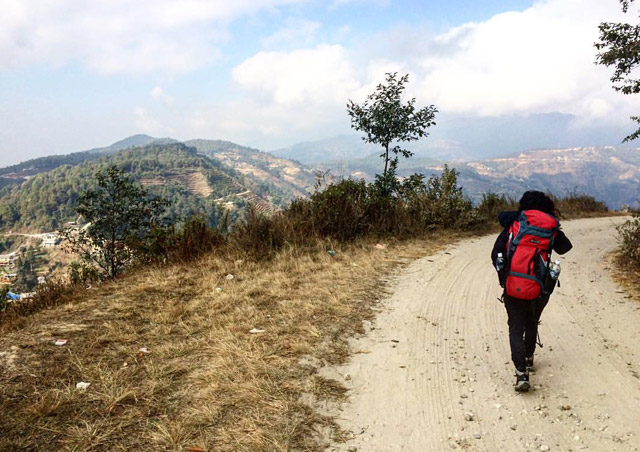 Trekking from Nagarkot to Bhaktapur in Nepal was beautiful, passing through small villages and seeing the daily way of life for the Nepalese. And the rice terraces were so pretty!